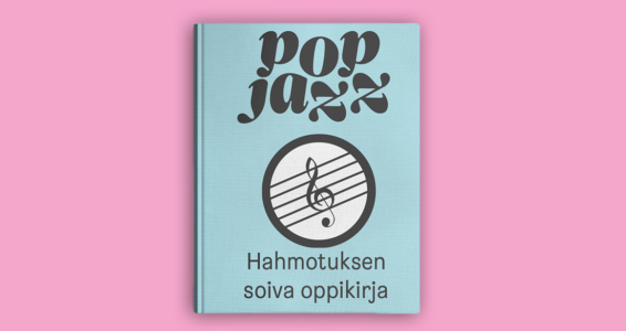 Hahmotuksen Soiva oppikirja on julkaistu Pop & Jazz Openissa